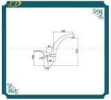 Miscelatore d'ottone solido di vendita caldo della cucina del bacino della cucina
