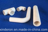 Износоустойчивая подкладка керамиковой труба глинозема с сертификатом ISO9001