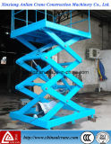 3T Capacité Poids plate-forme hydraulique de fonctionnement