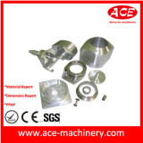 CNC Machining of Metal Pole Part