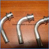 Identificazione molto richiesta del pezzo meccanico 4mm di CNC dell'acciaio inossidabile di alta qualità. Giuntatrice del tubo flessibile