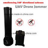Alta Potência Dead-Zoon Omnibearing 360 Drone Uav Interferidor Direcional