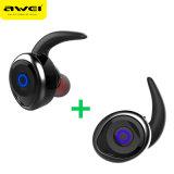 T1 Tws Bluetooth van Awei Hoofdtelefoons Earbuds van de Hoofdtelefoon Bluetooth van de Oortelefoon de MiniV4.2 Dubbele Draadloze Draadloze