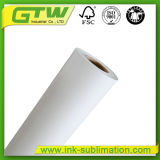 64 de '' papel seco rápido de la sublimación 90 G/M para la impresión de materia textil