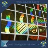 Kundenspezifisches Qualitäts-Regenbogen-Effekt-Hologramm-Kennsatz-Drucken