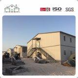 Casa Prefab do acampamento da construção de aço da luz de painéis do sanduíche da grande extensão em Duoha para trabalhadores