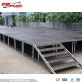 양탄자 지상 단계 또는 당 단계 디자인 또는 조정가능한 단계 플래트홈