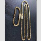 Uomini Mjcn054 di disegno della catena del Franco dell'oro del catenaccio del diamante di Hip Hop