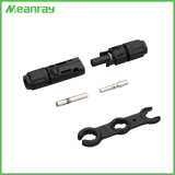 Ce TUV IP67 de 2,5 mm2~6.0mm2 Cable macho/hembra del conector del cable Solar Mc3