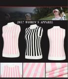 L'Aise Sports Golf Women's Sweater Vest Logo personnalisé Shirts