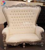 Throne Pedicure Chairs Pedicure大広間王はプラットホームによってセットした