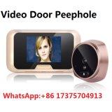 Дверной звонок телезрителя двери Peephole цифров взгляда ночи с движением 120 градусов