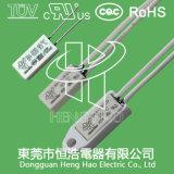 Переключатель регулятора температуры с сертификатом CQC/TUV/UL/RoHS