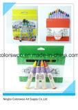 10 creyones de los colores los 0.8cm para los estudiantes y los cabritos