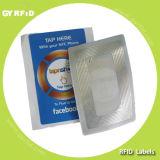 ラップの象眼細工RFIDのRFIDのスマートなラベル、近さのステッカー(GYRFID)