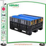 Logistische Plastikladeplatten-faltbare Sortierfächer