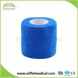 Ce/ISO/FDA Approved Non-Woven cohesivo elástica cinta Athletic