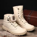 Тенденция ботинок Мартин ботинок людей осени и зимы резиновый единственная корейских ботинок холстины