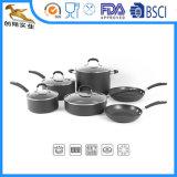 10ПК на базе алюминия жесткий анодированный Pfoe/PTFE бесплатно посуда для приготовления пищи (CX-как1003)