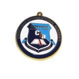 Medaille de Van uitstekende kwaliteit van de Sport van het Metaal van het Sleutelkoord van de douane