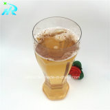 18oz 500ml effacent la glace de bière en plastique