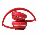 Nueva llegada de 2018 Venta caliente Auriculares Bluetooth auriculares estéreo inalámbricos con Ce/RoHS ranura para tarjeta SD de fábrica de China