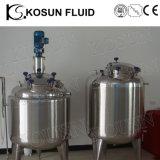 Acier inoxydable de qualité alimentaire et de la vapeur électrique gainé double réservoir de chauffage