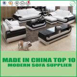 Moderne lederne Sofa-Ausgangsmöbel für Wohnzimmer