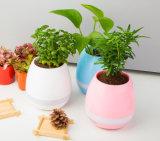 2017クリスマスのための普及したギフトのBluetoothのスピーカー音楽植木鉢
