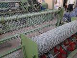 плетение провода цыплятины гальванизированного и черного винила 20gauge Coated