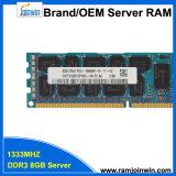 Зарегистрированный двойной RAM Rank*4 PC3-10600r 8GB DDR3 для сервера