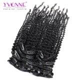 Clip di capelli riccia crespa di Yvonne Remy nelle estensioni 7PCS/Set dei capelli