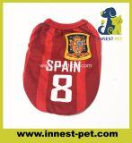 100% poliéster Deportes perro pequeño prendas de vestir