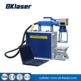 Handlaser-Markierungs-Maschine der faser-20W für Gummibalatabaum-Farbe