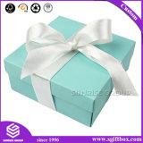 Doos van de Gift van de Organisator van de Cake van het karton de Vierkante Verpakkende