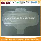 Serviette hygiénique molle élevée certifiée de Madame Female de garnitures sanitaires de dames de coton absorbant de coton de 100% fournisseur organique de la Chine de bon