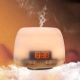 Humidificateurs ultrasoniques 400ml d'air de brouillard de diffuseur d'huile essentielle d'aromathérapie avec l'écran d'horloge de DEL pour la maison, yoga, bureau, STATION THERMALE, chambre à coucher, pièce de bébé Esg10424 (blanc)