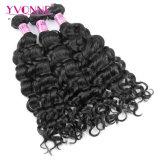 Tessuto peruviano dei capelli umani del Virgin dell'arricciatura dell'Italia dei capelli di Yvonne