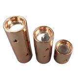 Gegalvaniseerde Gouden Ceramische Cilindrische Kandelaar
