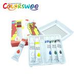 Vernice di colore di acqua della cancelleria 6ml*12PCS