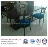 Hotel feito-à-medida que janta a mobília ajustada com cadeira de madeira (7891-1)