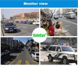 a visão noturna CMOS 1080P de 100m Waterproof a câmera do CCTV do IP PTZ do IR
