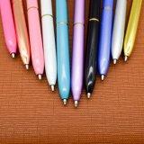 Diamond Multicolor Logotipo personalizado Metal Ball Pen.