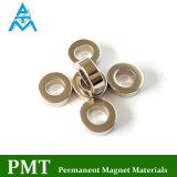 N38 Magneet van NdFeB van de Ring van D15xd8X5 de Magnetische Kleine met het Materiaal van het Neodymium
