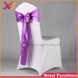 安く白い販売のための結婚式によって使用されるスパンデックスの椅子カバー