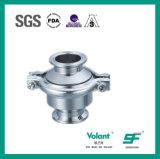 Válvula de verificação soldada RUÍDO Sfx047 do aço inoxidável 304 316L Stanitary