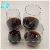 4 vidrios de vino fijaron para la venta