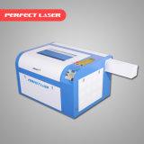 gravador pequeno do laser de 40W 50W 60W mini para o pano, acrílico