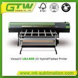 Широкий гибрид Рональд Lej-640 формы UV/планшетный принтер для печати Inkjet