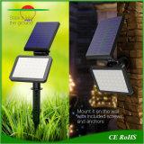 La lumière solaire pelouse 48LED Spots LED alimentée par la lampe du capteur de jardin